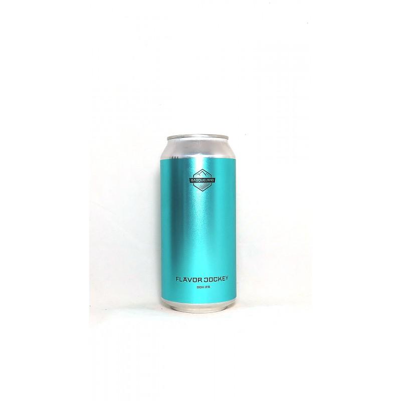 Vente en ligne canettes bière Basqueland Flaovor Jockey DDH IPA