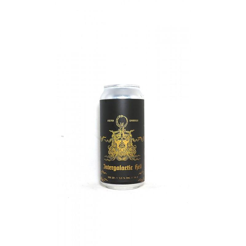 Vente en ligne bière Intergalactic Hell DDH pale ale de la brasserie Espiga
