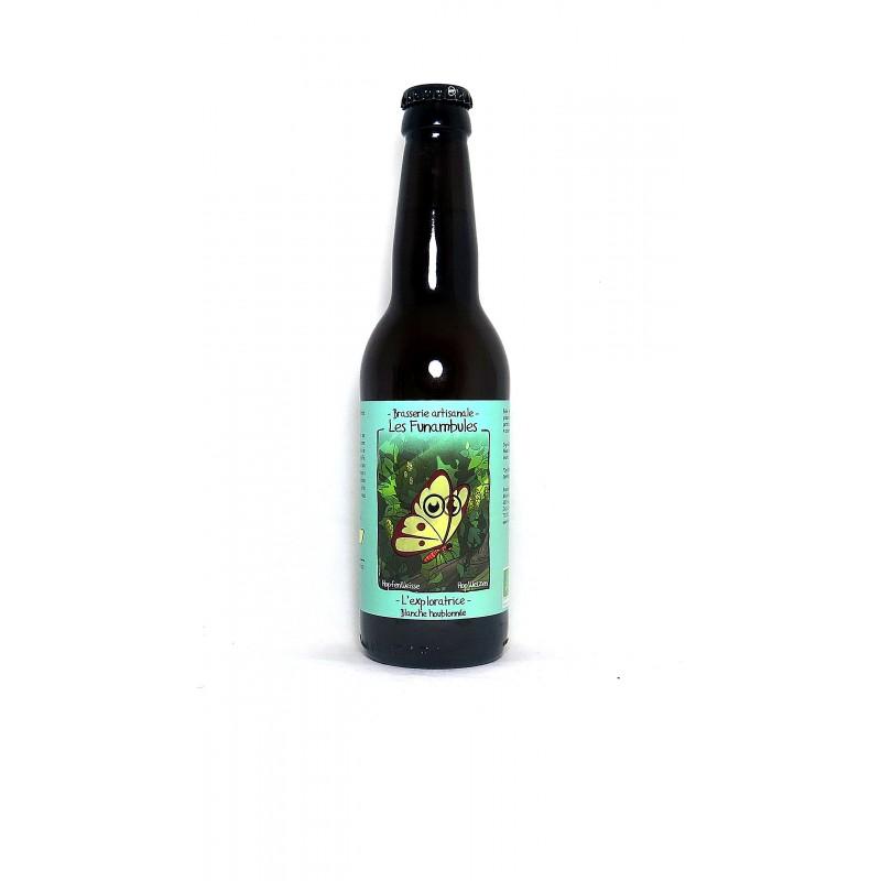 Vente en ligne et livraison en france, bière blanche Exploratrice brasserie les funambules