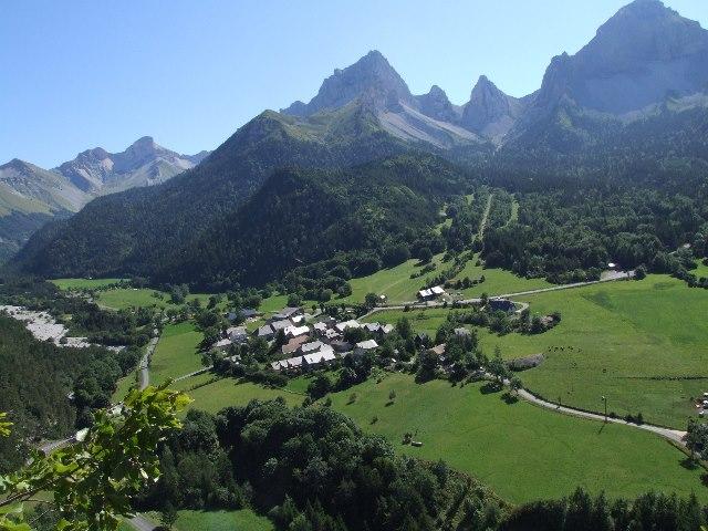 le paysage de la Brasserie du Haut Buech